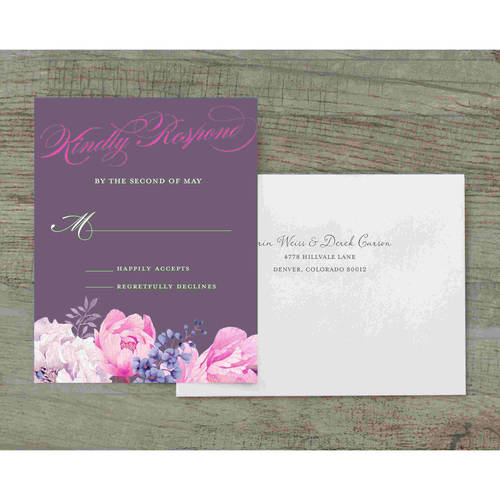 Enchanting Blossoms Deluxe RSVP
