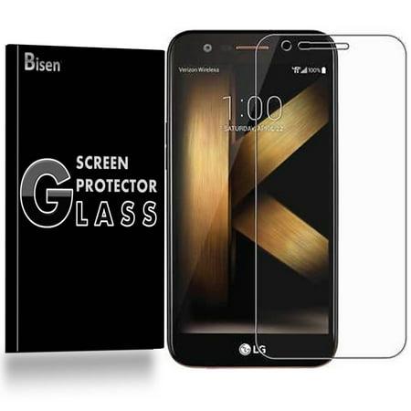 LG K20 plus (T-Mobile) [2-Pack BISEN] 9H Tempered Glass Screen Protector, Anti-Scratch, Anti-Shock, Shatterproof, Bubble Free - Walmart.com