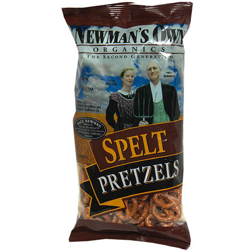 Newman's Own Organics Spelt Pretzels, 7 oz (Pack of 12) by Newman's Own Organics