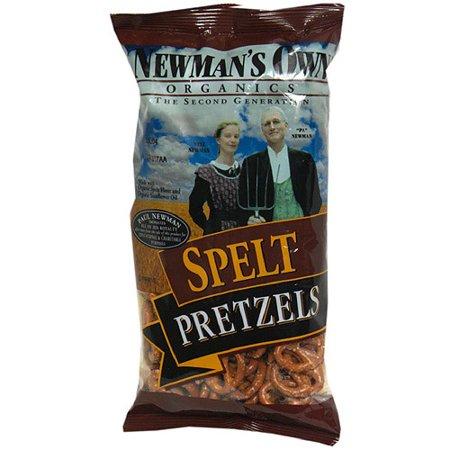 Newman's Own Organics Spelt Pretzels, 7 oz (Pack of 12)