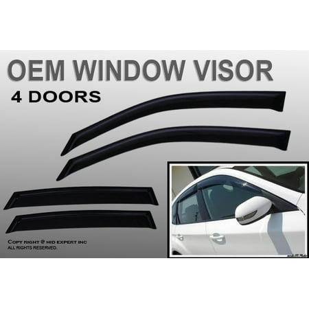 HONDA ACCORD 2008 2009 2010 JDM OEM WINDOW VISOR SUN RAIN GUARD FAST (Honda Oem)