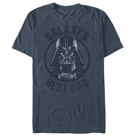 Star Wars Men's Darth Vader Galaxy's Best Dad (Darth Vader Best Dad Shirt)