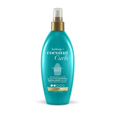 OGX® Locking + Coconut Curls Finishing Mist, 6 FL OZ