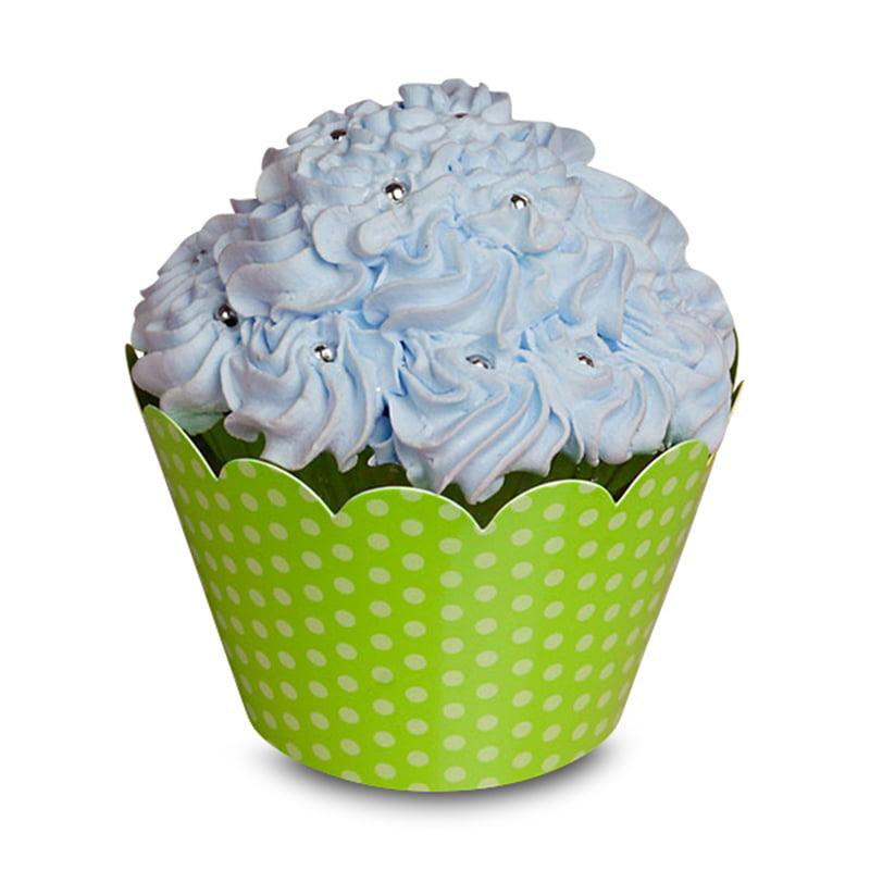 "Polka Dot Cupcake Wrapper  | Quantity: 50  | Diameter - 2"" by Paper Mart"