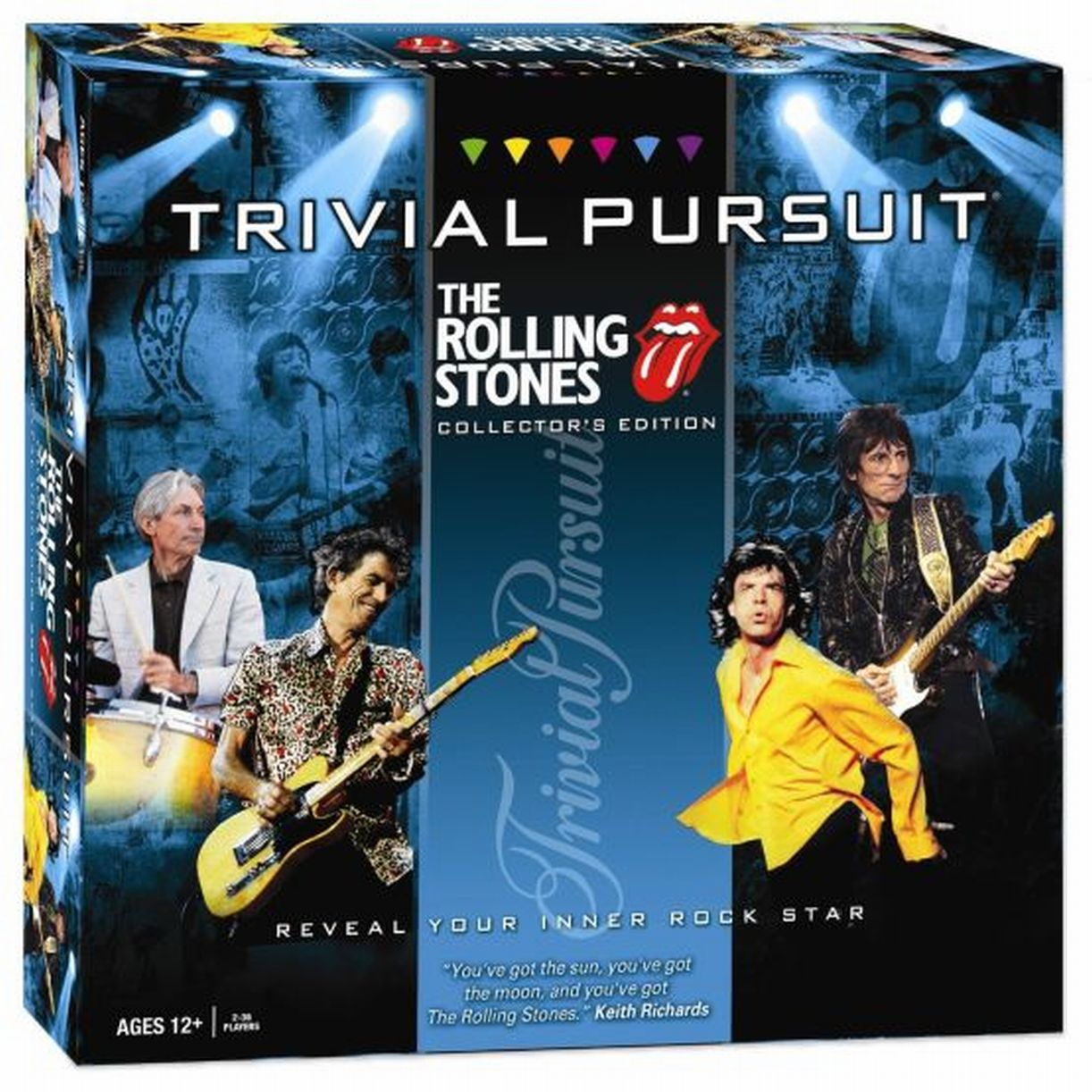 Rolling Stones Trivia Pursuit TRIVIARS by USAopoly