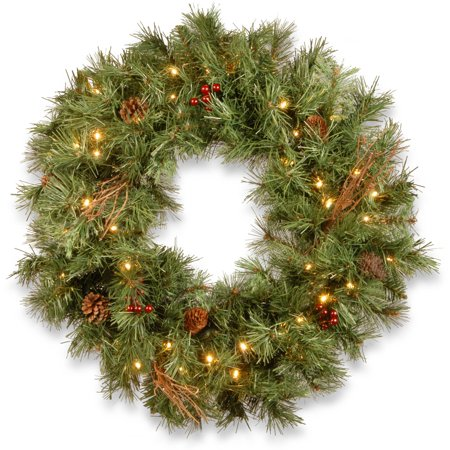 Battery Operated Wreath Lights (24