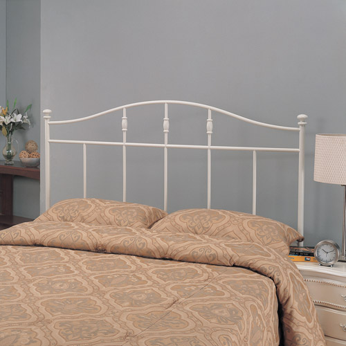 Coaster Twin Cottage Metal Headboard, White by Coaster of America