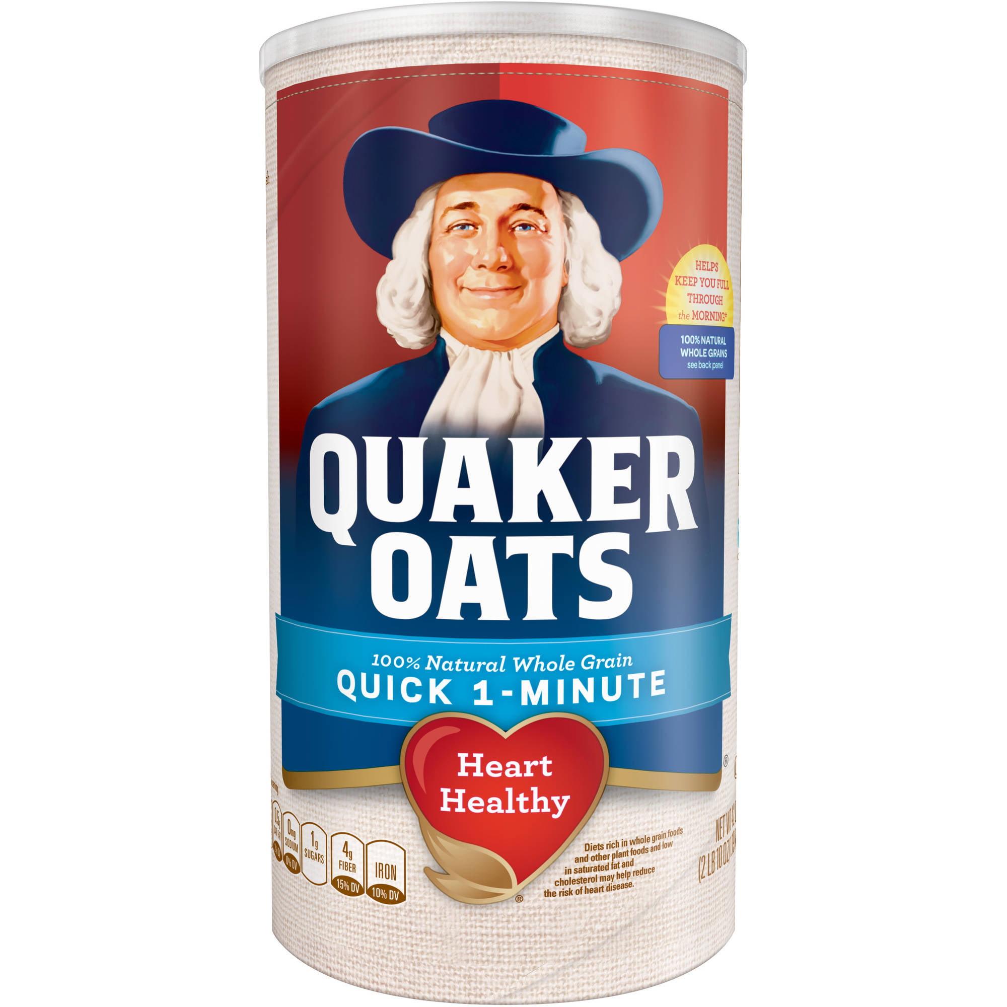 Quaker Oats Quick 1-Minute Oats, 42 oz
