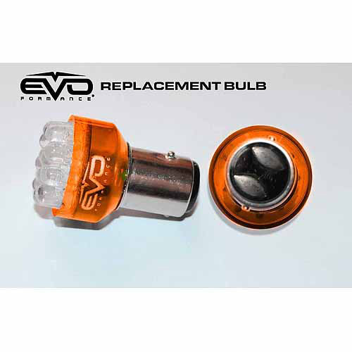 CIPA 1157 Amber LED Replacement Bulbs