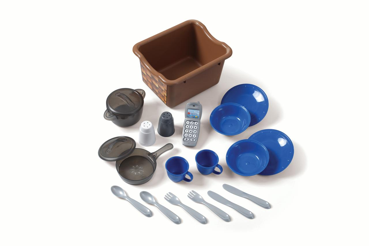 Step2 LifeStyle Custom Kitchen Includes 20-piece Accessory Set ...