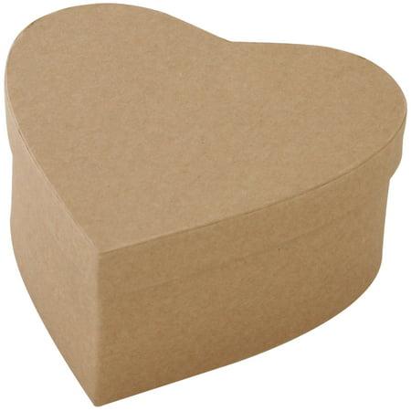 Papier Mch Paper Mache Boxes Amp Frames Heart Box