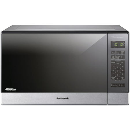 Panasonic Genius Sensor 1.2 Cu. Ft. 1200W Countertop/Built-In Microwave Oven with Inverter