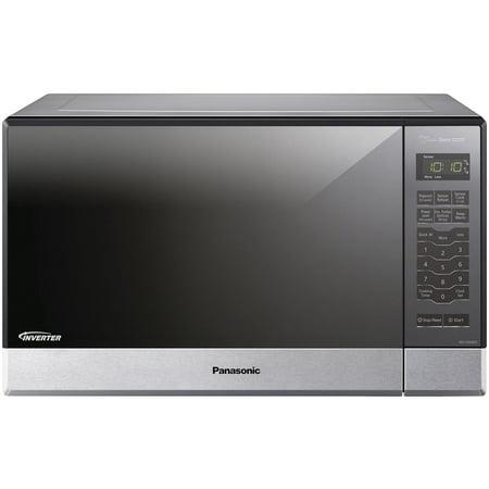 Panasonic Genius Sensor 1.2 Cu. Ft. 1200W Countertop/Built-In Microwave Oven with Inverter Technology