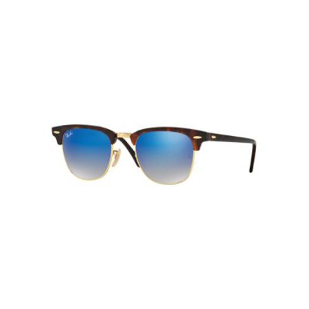 Ray-Ban Unisex RB3016 Classic Clubmaster Sunglasses, 51mm