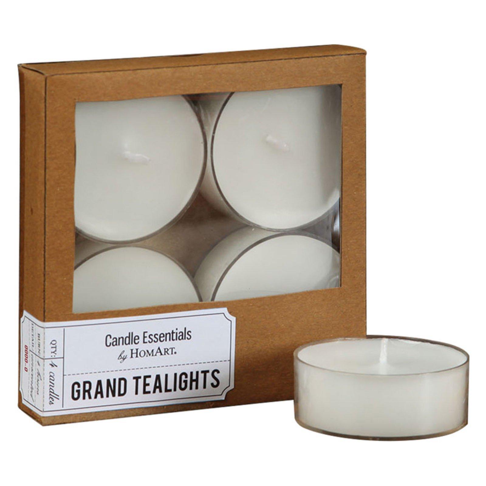 Grand Tealights - Set of 4