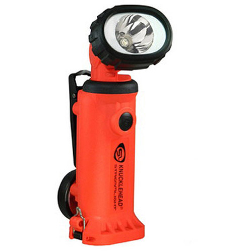 Streamlight Knucklehead Light, Spot with 12V DC Fast Charge, Orange by Streamlight