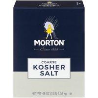(2 pack) Morton Coarse Kosher Salt, 3 LB