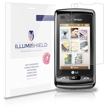 - iLLumiShield Anti-Bubble/Print Screen Protector 3x for LG enV Touch VX11000