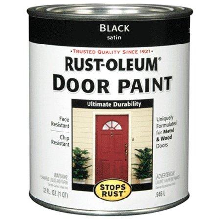 238310 Qt Black Rustoleum Door - Door Point