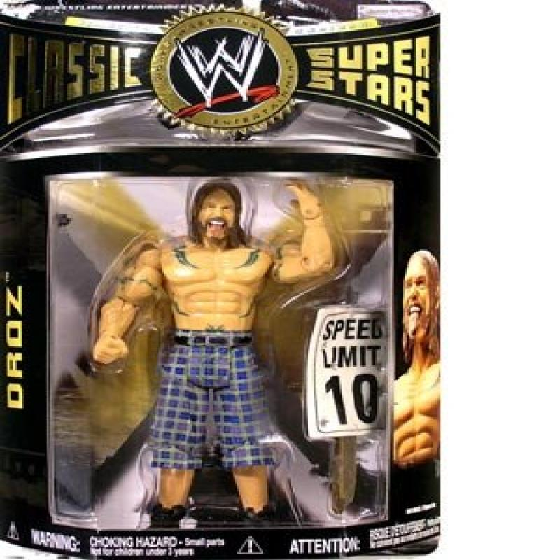 DROZ CLASSIC SUPERSTARS 13 WWE JAKKS WRESTLING FIGURE