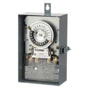 Tork 1103B-O 120VAC Electromechanical Timer, DPST