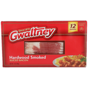 Gwaltney Hardwood Smoked Bacon, 12 Oz