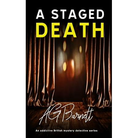 Brock & Poole Mystery: A Staged Death (Paperback)