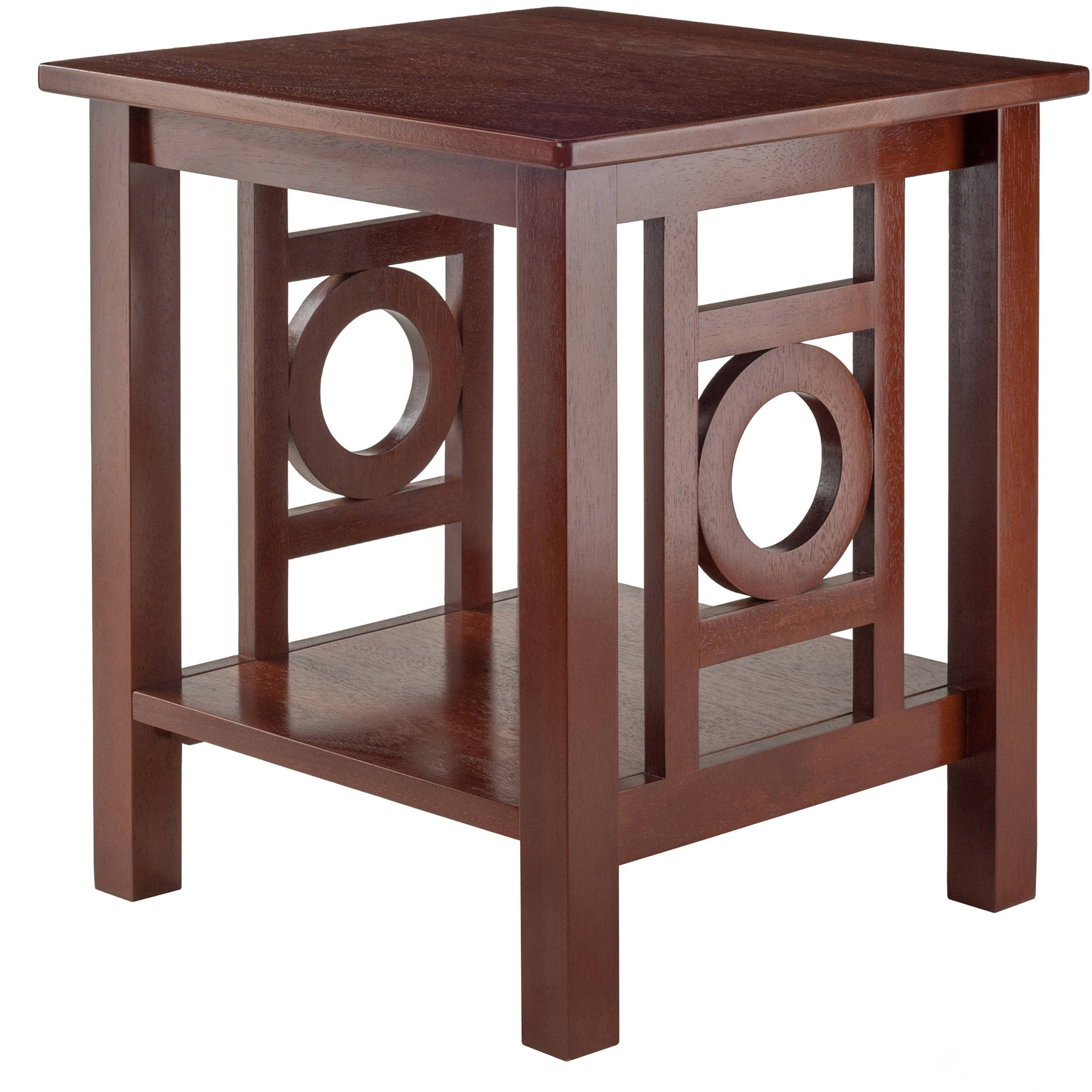 Winsome Wood Ollie Accent End Table, Walnut Finish by Winsome Trading Inc