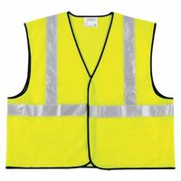 Class II Economy Safety Vests, 4X-Large, Lime, Sold As 1 Each
