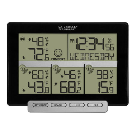 Weather Channel Halloween (La Crosse Technology 308-1412-3TX 3 Channel Wireless Weather Station with 3 included transmitting)