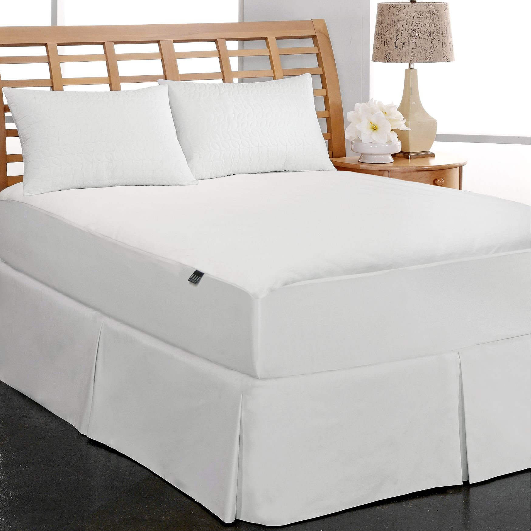 Elle Home Coral Fleece 220 GSM Waterproof Mattress Pad