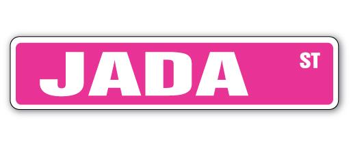 Indoor//Outdoor ADRIANNA Street Sign Childrens Name Room Decal
