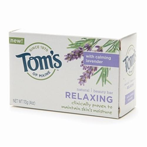 Tom's of Maine Natural Beauty Bar Relaxing 4 oz (Pack of 6)