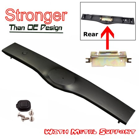 CF Advance For 04-09 Toyota Prius Rear Exterior Tailgate Liftgate Handle Garnish Non Painted Black NPB 2004 2005 2006 2007 2008 2009