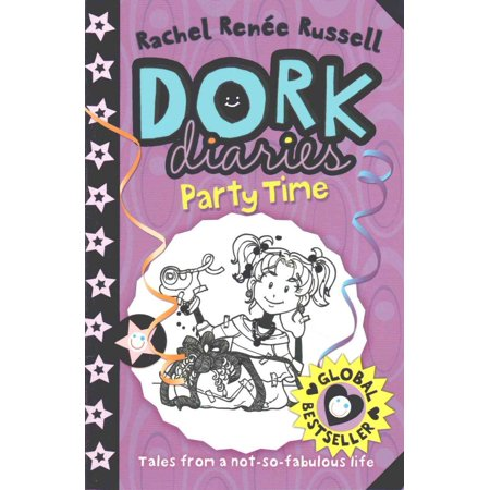 Dork Diaries: Party Time (Paperback)](Social Diary Halloween Party)