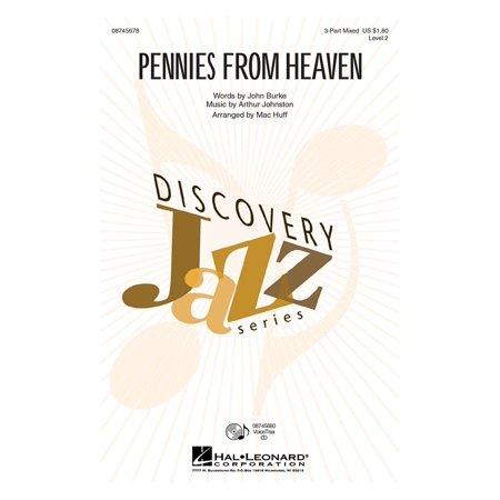Hal Leonard Pennies From Heaven 2 Part Arranged By Mac Huff