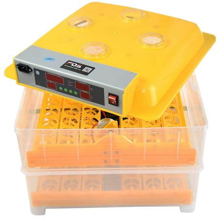 Gymax 96 Digital Egg Incubator Hatcher Temperature Control ()