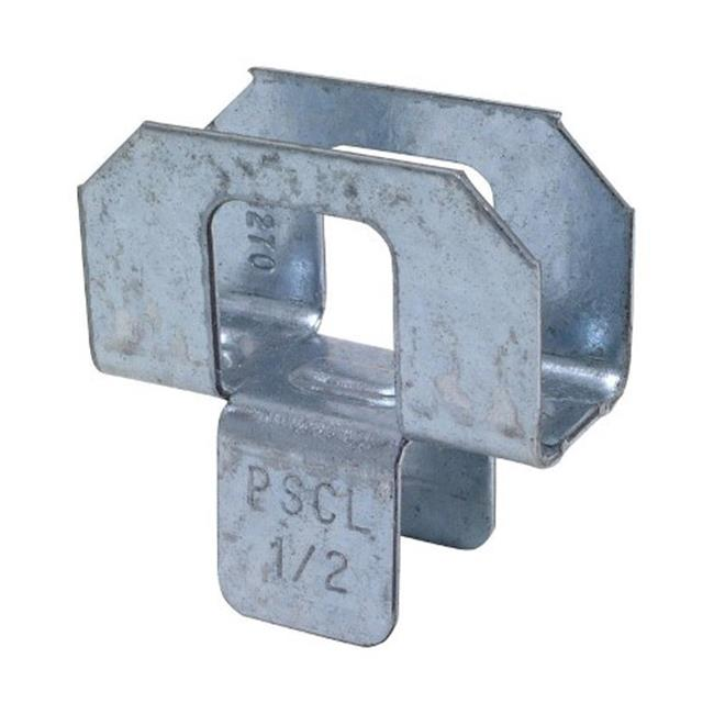 Simpson Strong-Tie PSCL1-2 Plywood Panel Sheathing Clip  0.5 in. - image 1 de 1