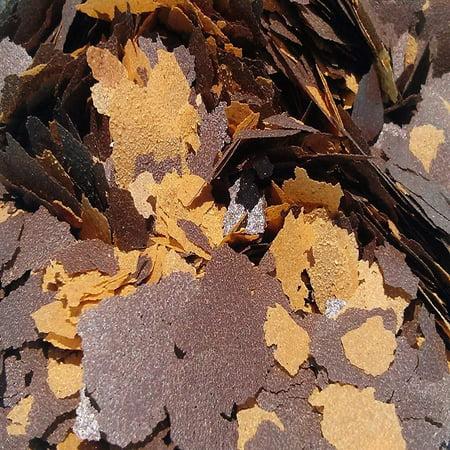 Aquatic Foods 45% Blackworm & Earthworm Flake Blend, ULTRA Premimum Tropical Fish Flakes - 1/8-lb