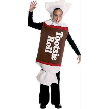 Tootsie Roll Child Halloween Costume - Walmart.com