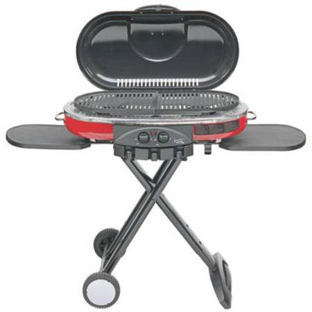 Coleman RoadTrip LXE Portable Propane (Solaire Stainless Steel Portable Grill)
