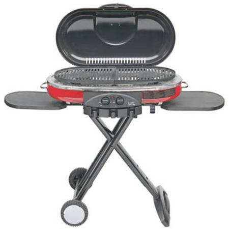 Coleman RoadTrip LXE Portable Propane Grill, Red