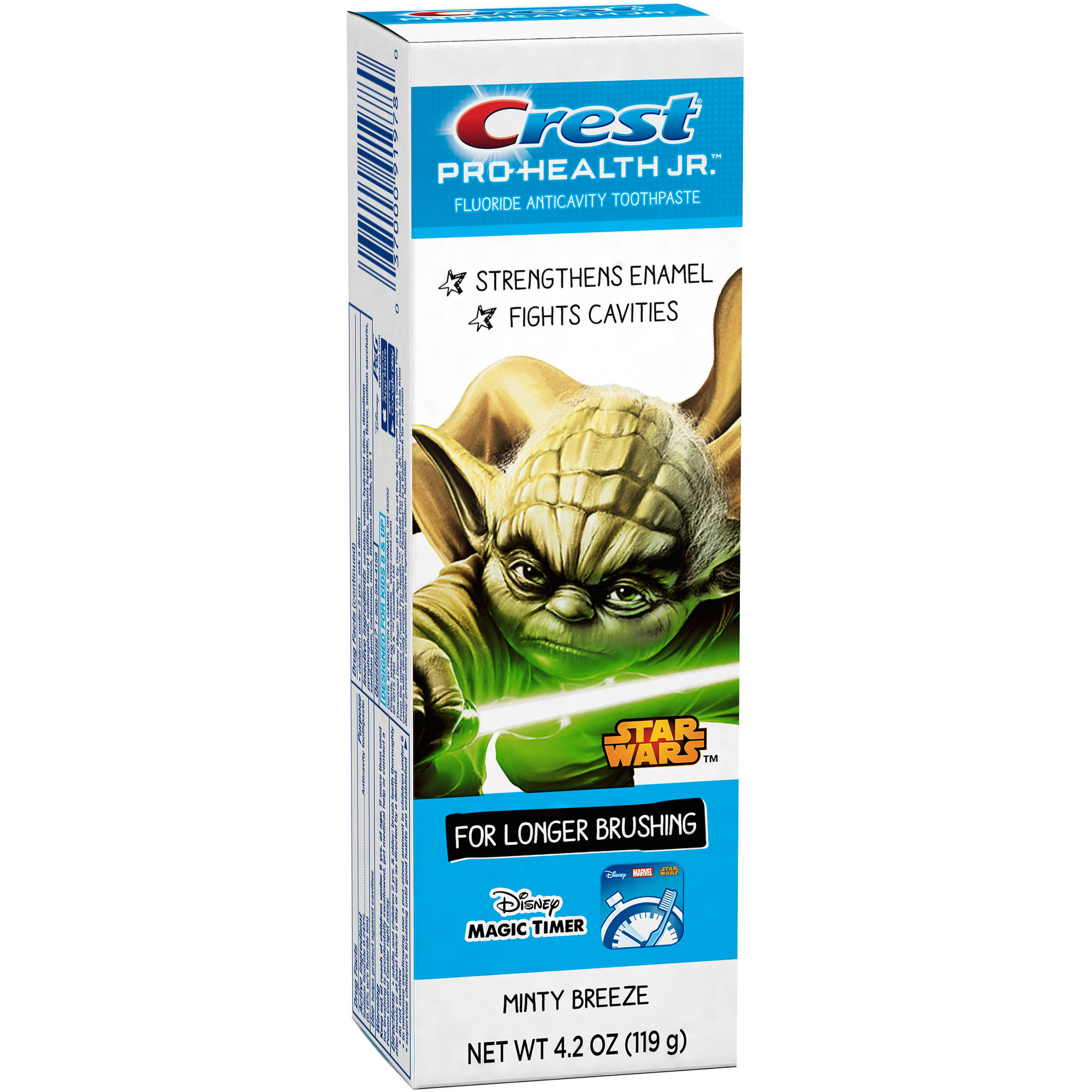 Crest Pro-Health Jr. Star Wars Kids Minty Breeze Fluoride Anticavity Toothpaste, 4.2 oz