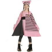 Girls Carnation Pink Stripe Lori Designer Fall Dress 7