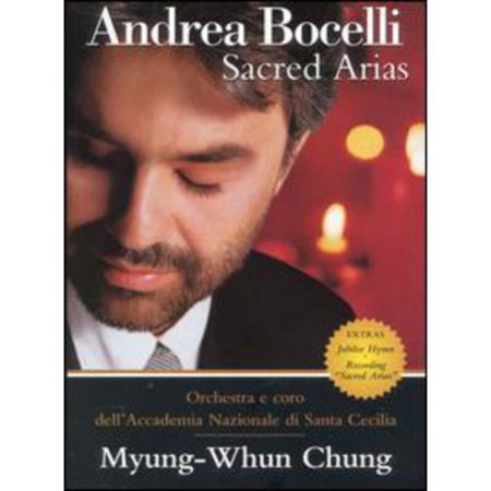 Andrea Bocelli Sacred Arias: The Home Video VHS Tape - Vhs Tape Costume