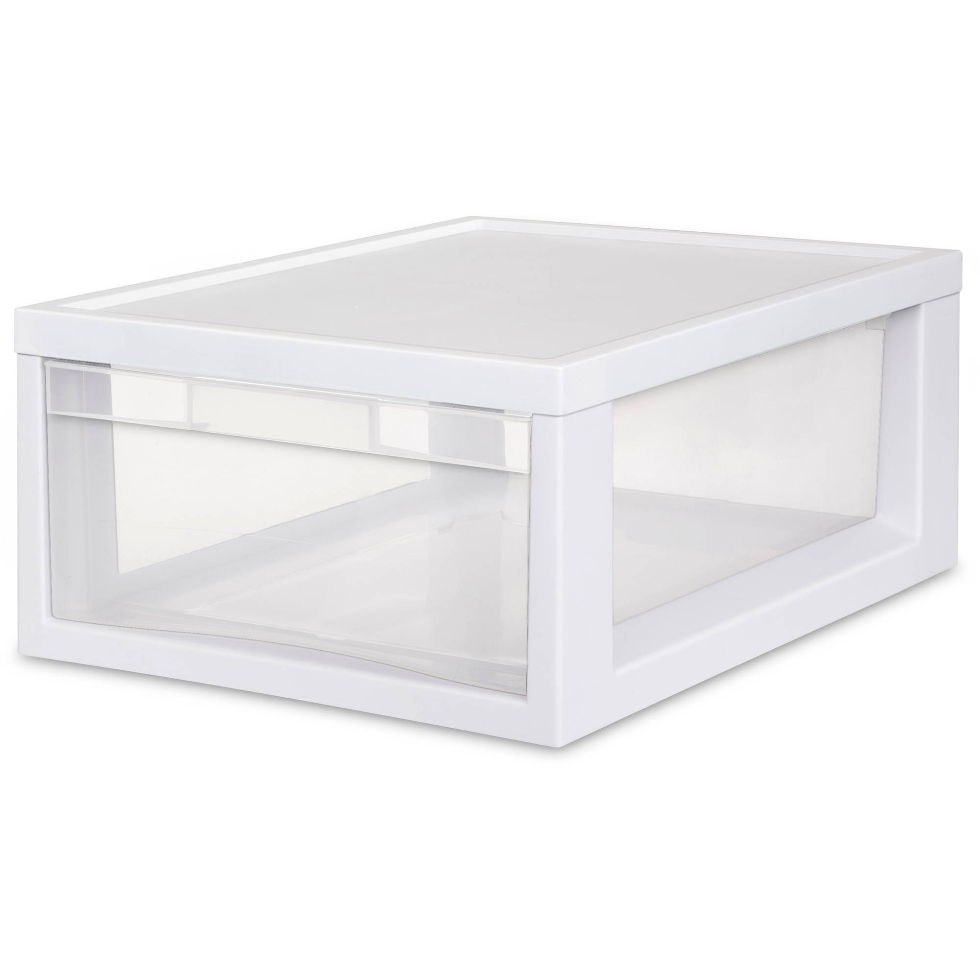 Sterilite Medium Modular Drawers- White (Available in Case of 6 or Single Unit)