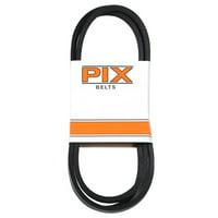 Rubber Industrial V-Belt, 1/2 x 72-In.