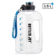 Tomshoo Sports Water Bottle Bicycle Water Bottle Drinking Kettle Large Capacity Sport Water Jug Gym Fitness Kettle For Camping Sports Workouts and Outdoor Activity