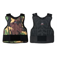 Maddog Padded Paintball & Airsoft Chest Protector~Black