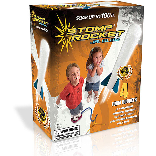 D & L Company Glow Stomp Rocket Jr.